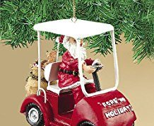 Golf Christmas Tree Ornament